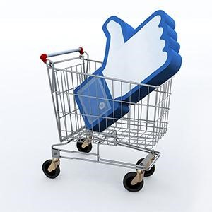 Facebook Like In Cart